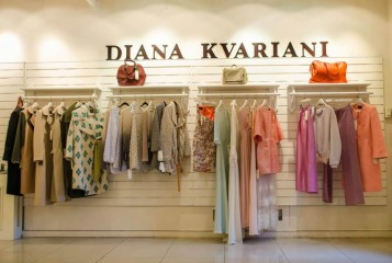 Georgian designer Diana Kvariani- Bambis Rigi Street
